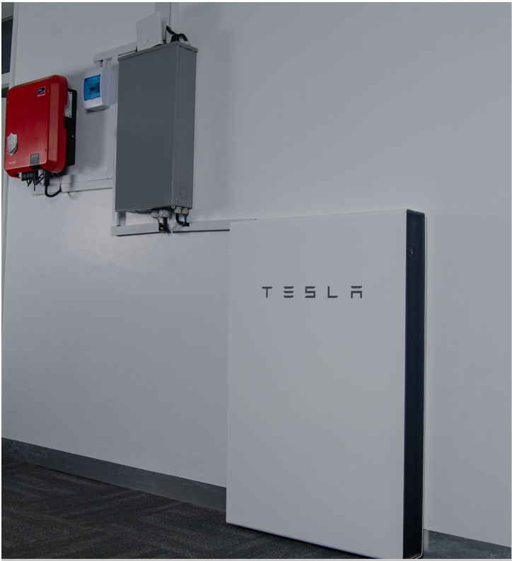 Our Office is Powered by Tesla