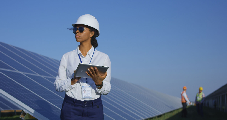 Solar energy Powering